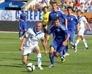 В матче против Томи сезон 2009.